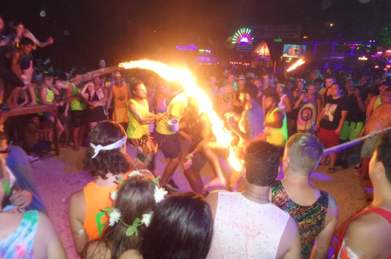 South Thailand – Koh Phangan Full Moon Party